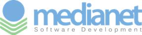 Medianet software development logo