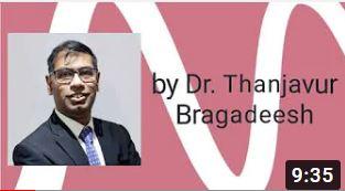 Dr. Thanjavur Bragadeesh webinar