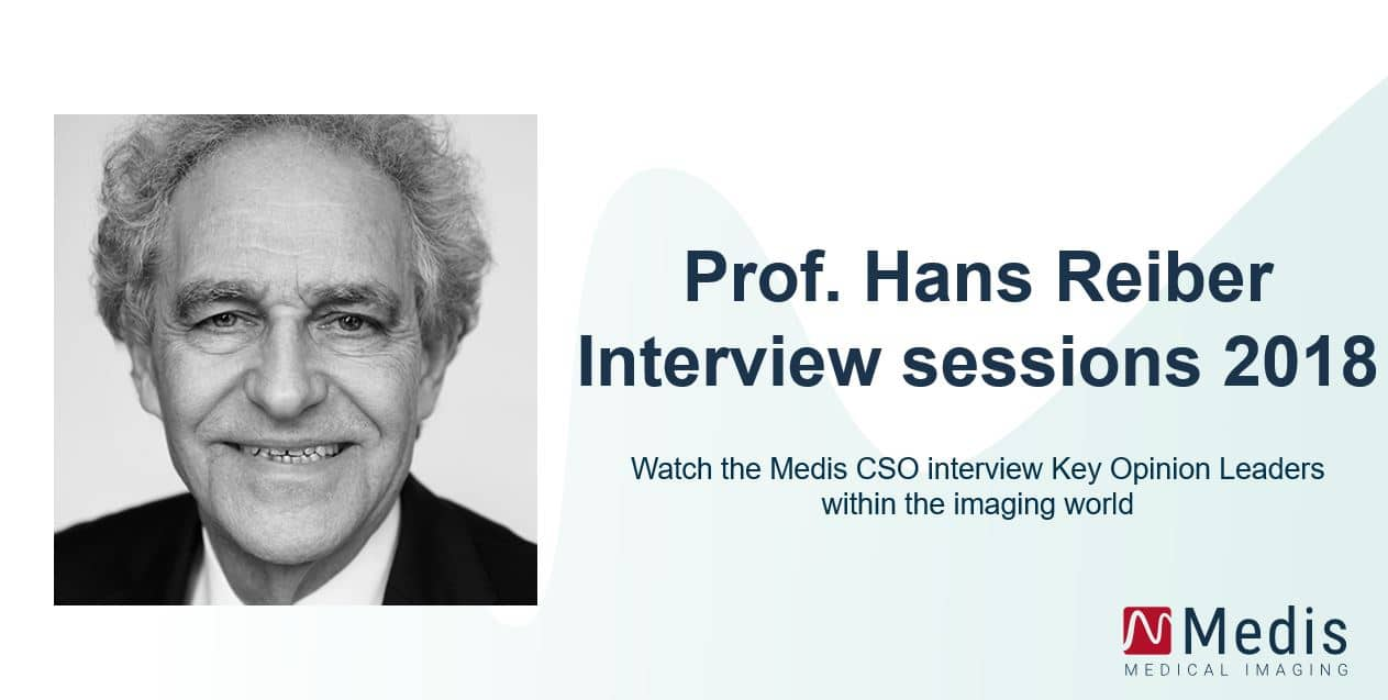 Prof. Hans Reiber Interview sessions 2018
