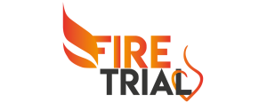 FIRE TRIAL Logo