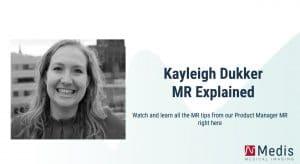 Kayleigh Dukker MR explained videos poster