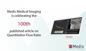 Medis 100th published QFR article celebration poster