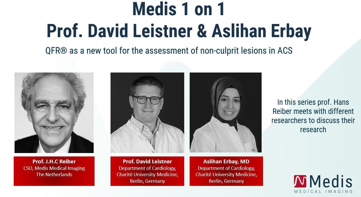 Medis 1 on 1: Prof. David Leistner & Aslihan Erbay