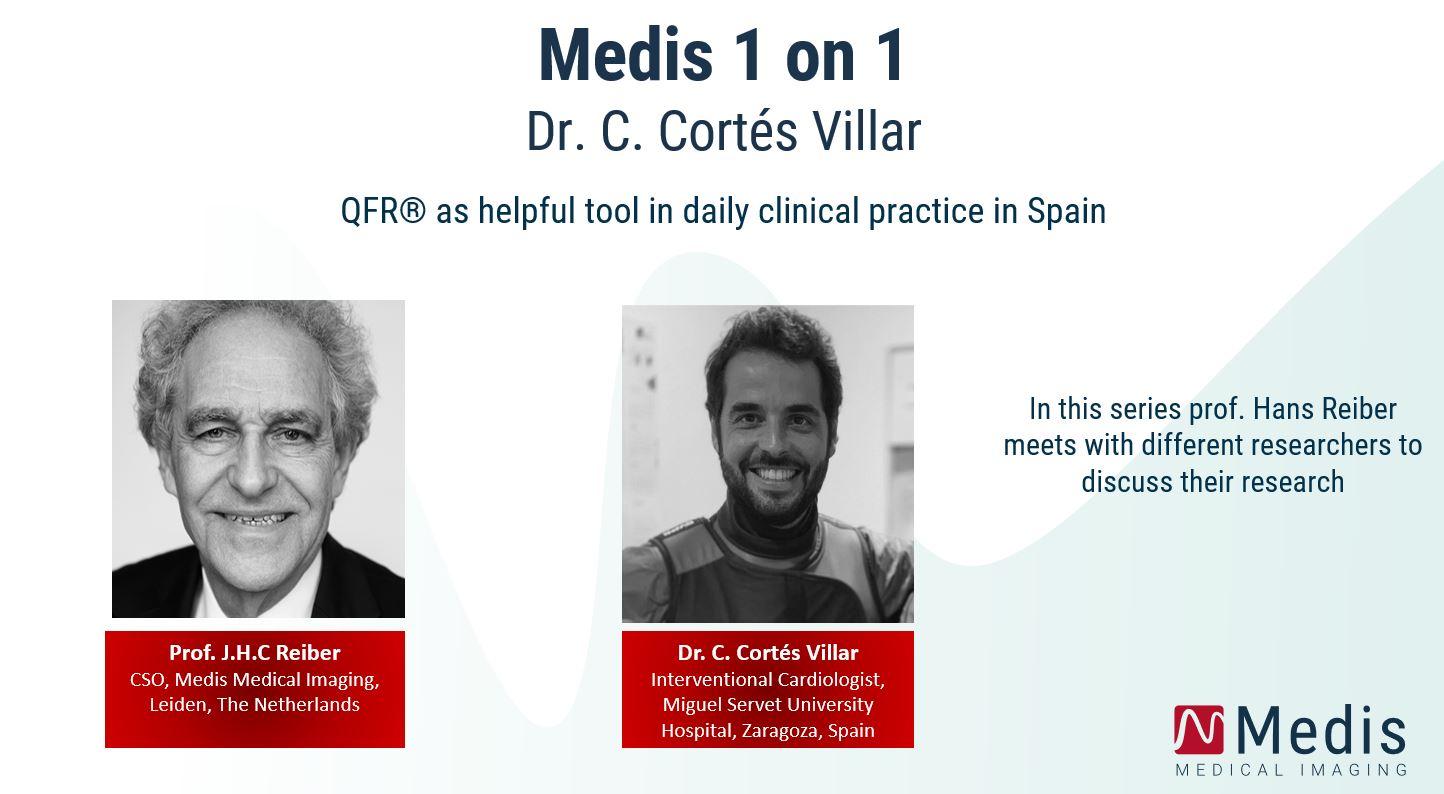 Medis 1 on 1: Dr. Carlos Cortés Villar