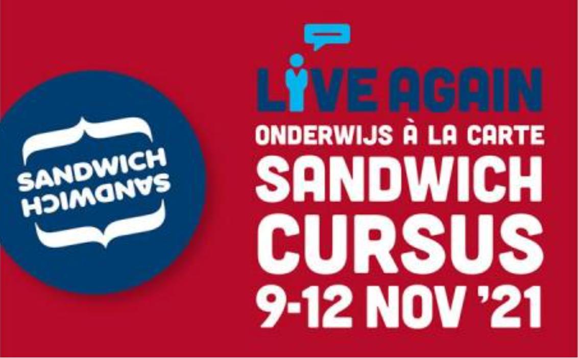 Sandwich Course NL 9-12 Nov